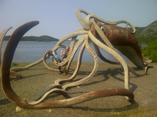 Giant Squid Interpretation Centre: Captured by the Monster