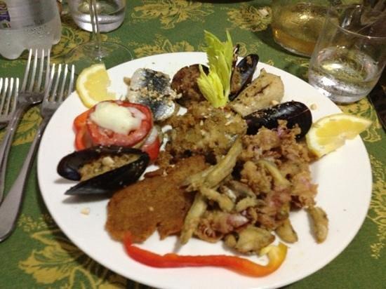 Gran Piatto Di Pesce Caldo Picture Of Ristorante Don Piricuddu