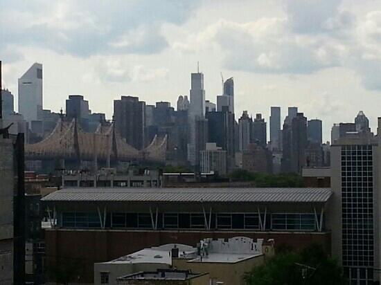 Nesva Hotel : NYC Skyline from the Nesva 6th floor