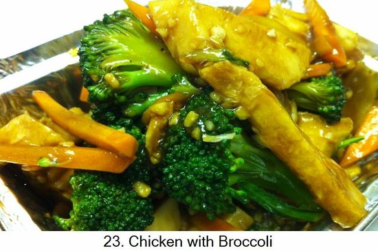 Sunwah: Chicken and brocoli