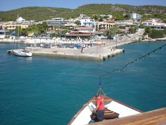 Galini Hotel: Agina port