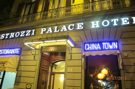 Strozzi Palace Hotel: The Outside