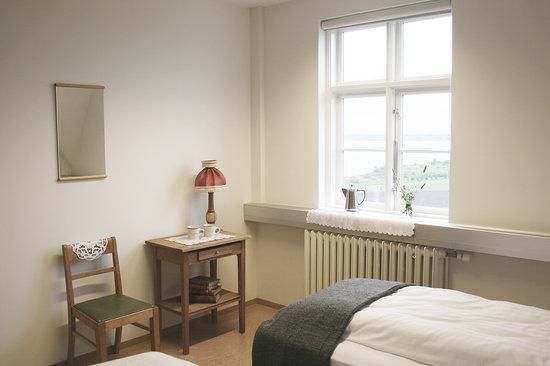 double room at Heradsskolinn Hostel