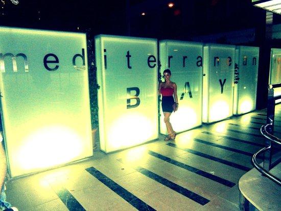 Mediterranean Bay Hotel : Entrada del hotel