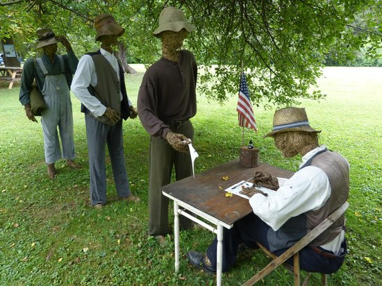 Herman Melville's Arrowhead : African Americans signing up for the Civil War