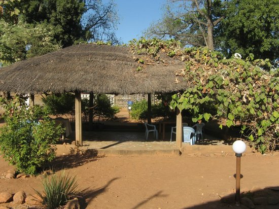Tiebele, Burkina Faso: Breakfast and dining place