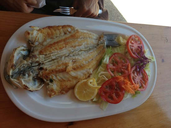 Cala Mandia Restaurant : Branzino alla griglia