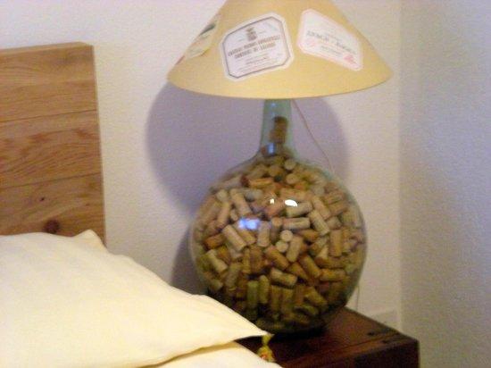 Rêves Gourmands : dettaglio camera