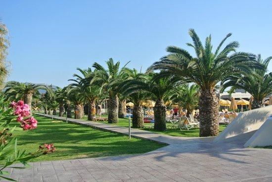 Holiday Village Kos by Atlantica: View from quiet pool
