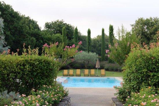 Mas de la Senancole: piscine de l'hôtel