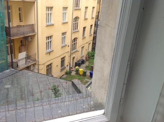"""Hotel Paris Prague: view from """"junior suite"""" 217"""
