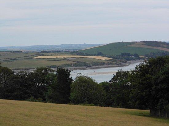 Dennis Farm Campsite : View from site