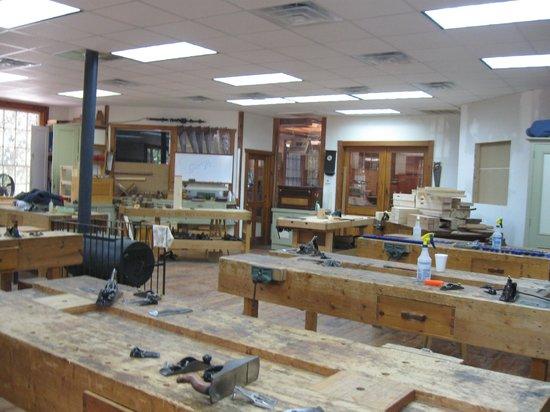 Homestead Craft Village: Inside the Woodshop