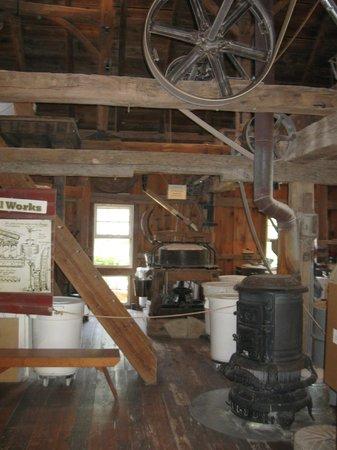 Homestead Craft Village: Inside the Working Water-Wheel Mill Shop