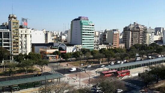 Scala Hotel Buenos Aires : vista habitacion