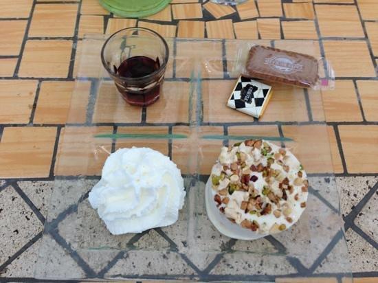 Le Petit Bouzigues : Nougat glacé