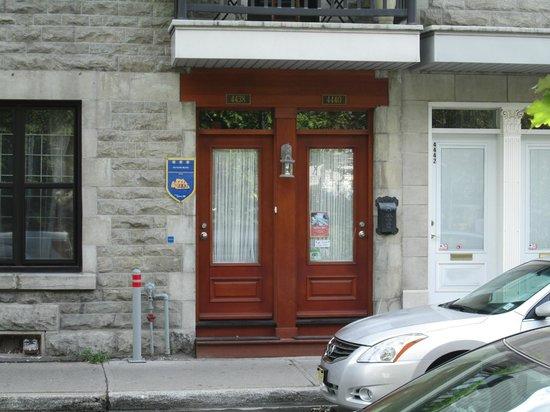 Au Piano Blanc : entrance