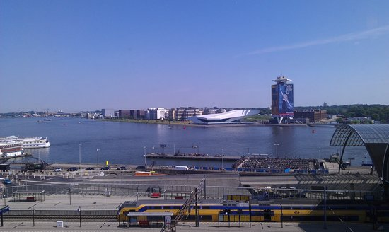 Ibis Amsterdam Centre: view from room 960