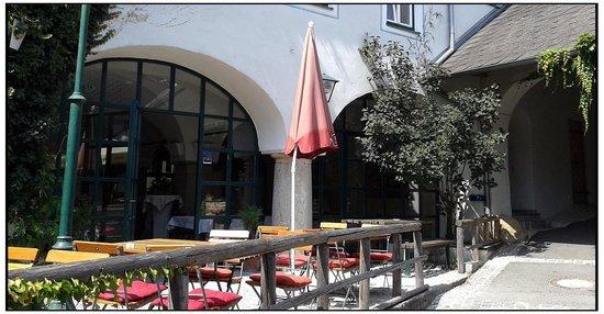 Schiffsmeisterhaus: Terrace