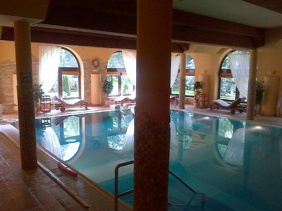 Grand Hotel Stamary: indoor pool