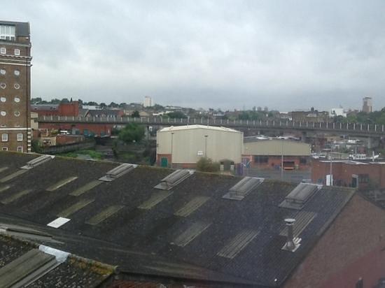 Premier Inn London Greenwich Hotel: View from the window
