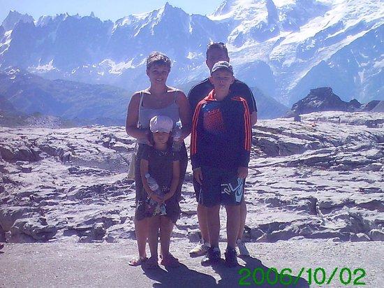 Les Villages Clubs du Soleil: face au mont blanc