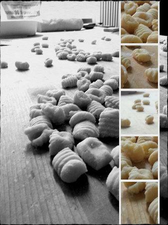 Osteria della Gallina Sversa : I nostri Gnocchi di patate rosse d'alta Langa