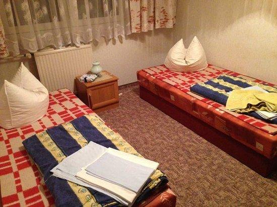 Familienherberge: Elternschlafzimmer