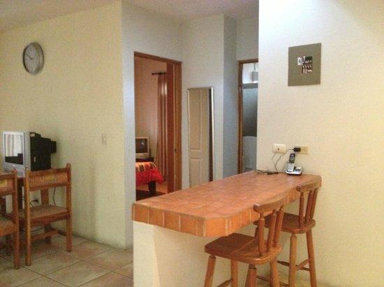 Condo Portofino: kitchen into a bedroom
