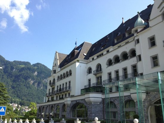Park Hotel Vitznau: during the day