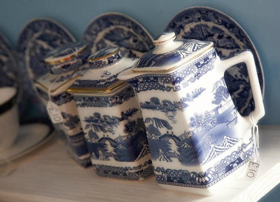 China Blue: lots of china for sale