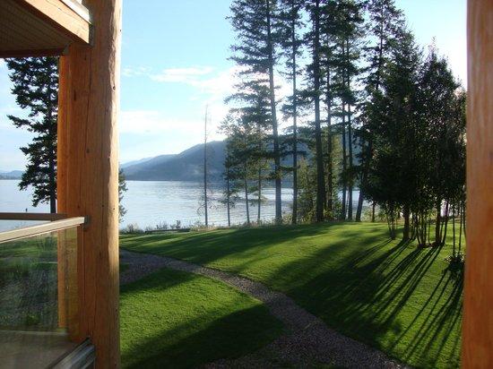 Quaaout Lodge & Spa at Talking Rock Golf Resort: Vista lago dal balcone