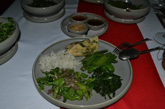 Hotel Amantaka: Dinner