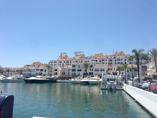 Benabola Hotel & Apartments: From the port