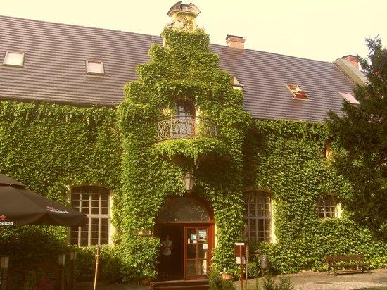 Kliczkow Castle: Wejście do recepcji