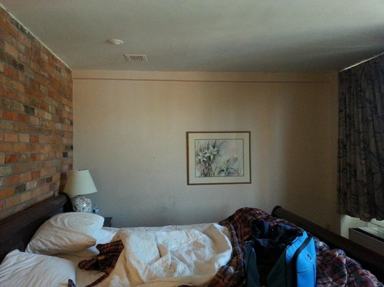 Howard Johnson Hotel Toronto Yorkville: dirty walls