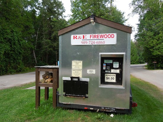 Harrisville State Park: Wood vending