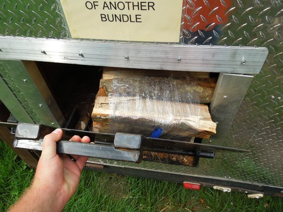 Harrisville State Park : Wood vending