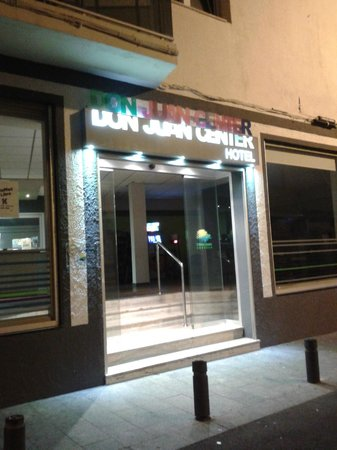 Don Juan Center Hotel: ingresso hotel