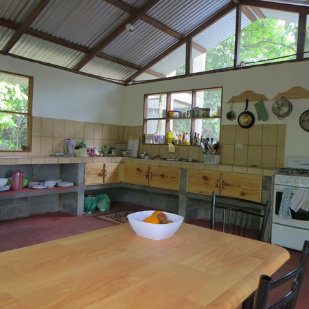 Toucan & Tarpon: Shared kitchen