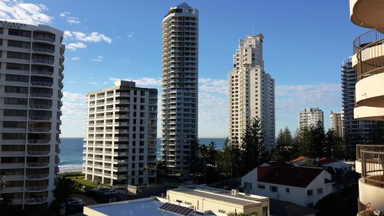 Warringa Surf Apartments: view from balcony