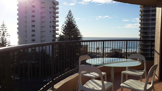 Warringa Surf Apartments: view form balcony