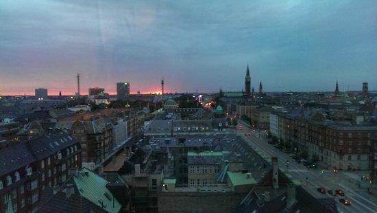 Danhostel Copenhagen City : View from the 12th floor..