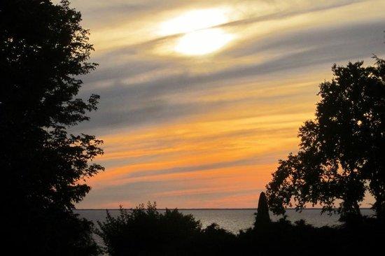 Sunset view from Lull-Abi Inn