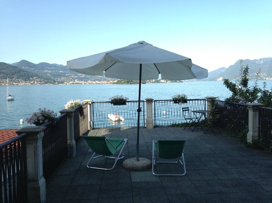 Hotel Belvedere: Terrace view from room