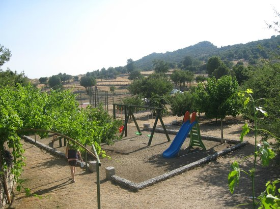 Blacktree Farm and Cottages : View of farm/playground