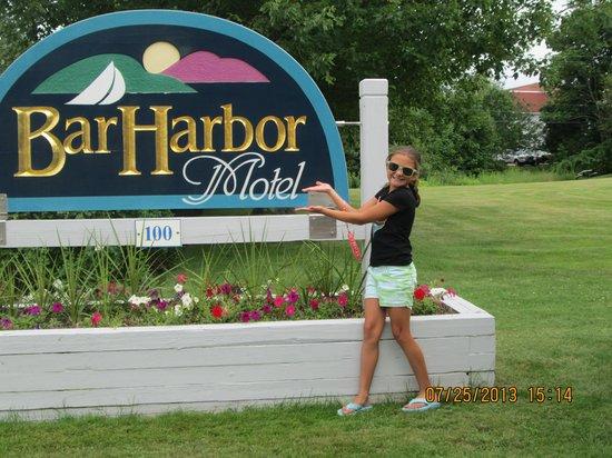 Bar Harbor Motel : Our Grandchild Deana