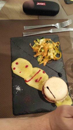 la cas'a Tom: la macaron de foie gras