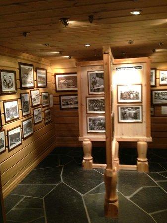Grotli Hoyfjellshotell: The room that Grotlis history i spoken in pictures