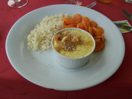 Hotel Gergovia: Une cassolette au saumon